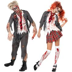 Mystique Costumes, Dubai's favorite costume shop for all its Halloween and fancy dress costume needs in the U. Scary Couples Costumes, Zombie Couple Costume, Couple Halloween Costumes, Adult Costumes, Cosplay Costumes, Halloween Fancy Dress, Adult Halloween, Scary Halloween, Costumes