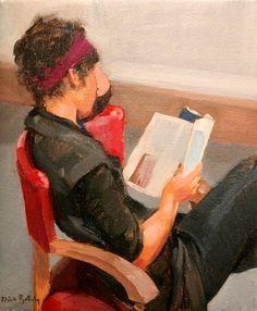 Nick Botting ** She's so totally reading the newyorker