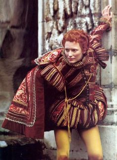 "Tilda Swinton in Sally Potter's ""Orlando"". 1992."
