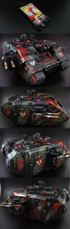 Blood Angels Army Project ...LOVE this color scheme - possibly for my Inquisitor