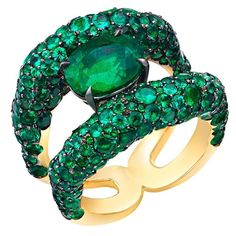 Fabergé emerald ring