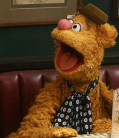 Fozzle Bear's Fridayface! The Muppets's photo.