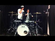 Jaime playing the drums lol>>Oh my jesus, I just died