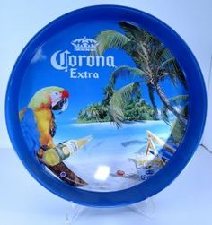 2008 Corona Extra Tip Beer Serving Tray (great