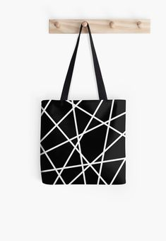 Black and white design for minimal lovers Minimal Style, Minimal Fashion, Black And White Design, Line Patterns, Iphone Wallet, Poplin Fabric, Cotton Tote Bags, Floor Pillows, Shopping Bag
