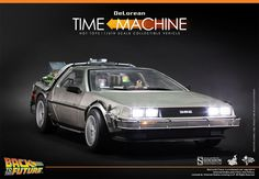 Back to the Future DeLorean Sixth Scale Figure Related Prod | Sideshow Collectibles