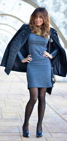 Endless #Gray #Dress by Just Coco