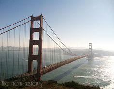Golden Gate Bridge I heard we can walk it! Looking forward to this!