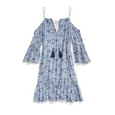 Stitch Fix New Arrivals: Cold-Shoulder Printed Dress