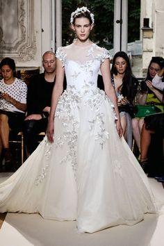 robe de mariée Georges Hobeika couture automne-hiver 2012-2013
