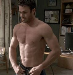 Taylor Kinney ALSO being shirtless. | Can You Make It Through This Post Without Your Ovaries Exploding?
