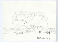 Frank Gehry | Essay PDF | Walt Disney Concert Hall Project Drawing, Los Angeles, California, Frank Gehry, 1991, Gehry Partners, LLP, Los Angeles, © 2015 Gehry Partners, LLP, image courtesy Gehry Partners, LLP #FrankGehry #LACMAforEducators #Essay #ArtHistory #Curriculum