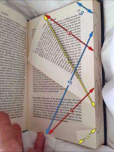Folding Book Art - Wedding Table