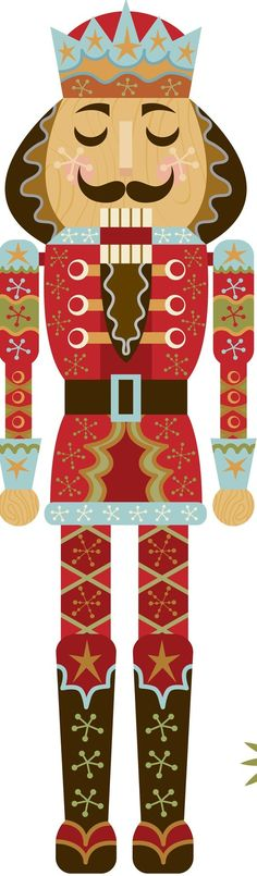 And we wink and bid farewell to another wonderful Nutcracker Ballet Season :) Nutcracker Crafts, Nutcracker Sweet, Nutcracker Christmas, Noel Christmas, Christmas Images, All Things Christmas, Xmas, Christmas Ornaments, Christmas Clipart