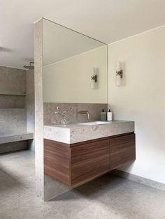 Bad Inspiration, Bathroom Inspiration, Small Bathroom, Master Bathroom, New Bathroom Designs, House Goals, Minimalist Home, Bathroom Interior, Interior And Exterior