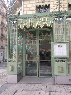Ladurée on the Champs-Elysées