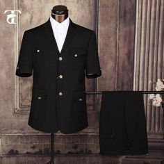 8576cf58 Men Suits 2016 Summer Short Sleeve Blazer Masculine Office Uniform Design  Garment Factory Fancy Suits For Men Apparel Safari Suit
