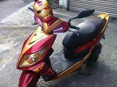 Der Iron Man Motorroller on http://www.drlima.net