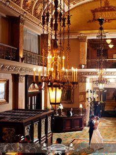 The Pfister Hotel #wedding #brideandgroom #milwaukee
