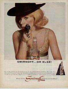 Smirnoff... or else! #vintage #Smirnoff