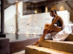 Spa Museum, Nun Assisi Relais and Spa Museum, Assisi, Italy. Dug into a medieval-feeling subterranean space, a spa focused on the pool system first used by health-conscious Romans in the seventh century.