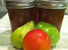Canning Homemade!: Pears Apples Plums - Canning Autumn Jam