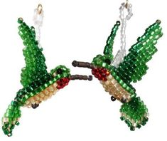 Resultado de imagen de 3D Beaded Bird Patterns