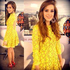 Litt Brasil Dress, Schutz Shoes