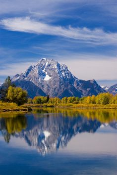 ✯ Oxbow bend in the Grand Tetons