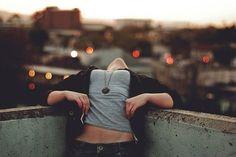 The world is so much cooler when you're upside down :)