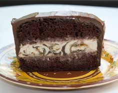 If you like the idea of homemade ice cream cake but don't want to deal with the issue of what to do with the leftovers, here's an easy recipe for a small cake that serves about 6. To make it, I used my family's recipe for mayonnaise cake, but adjus