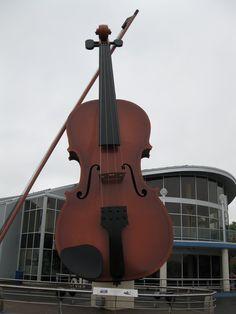 The Big Ceilidh Fiddle, Sydney, Nova Scotia I Am Canadian, Canadian Travel, East Coast Travel, Cape Breton, O Canada, Prince Edward Island, New Brunswick, The Province, Nova Scotia