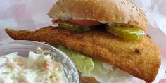 NEW HAMPSHIRE -- Beer Battered Fish Sandwich from Nadeau's Subs