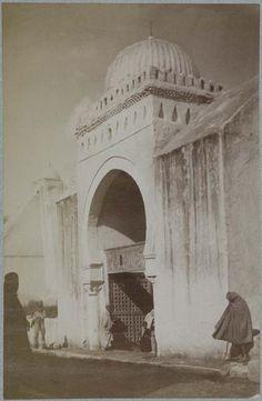 Kairouan   Grande mosquée    L'entrée