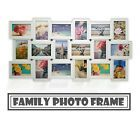 26 PCS White Wood Multi Picture Collage Set Photo Frames Home Decor Wall Mounted | eBay Family Wall Collage, Collage Art, Picture Cards, Picture Photo, Living Room Decor Photos, Multi Picture, Shower Set, Gift Wedding, White Wood