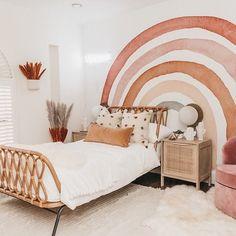 Big Girl Bedrooms, Little Girl Rooms, Girls Bedroom Mural, Childs Bedroom, Toddler Rooms, Kid Rooms, Toddler Girl Beds, Kids Bedroom Ideas For Girls Toddler, Kids Room Design
