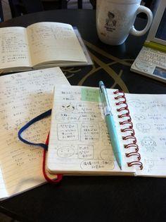 私の手帳はこんなかんじかなあ