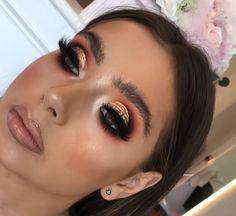 Pin by makeup jet on Maquillage De Yeux / Eyes Makup Glam Makeup, Makeup Inspo, Makeup Inspiration, Beauty Makeup, Hair Makeup, Makeup Is Life, Makeup Blog, Makeup Goals, Makeup Tips