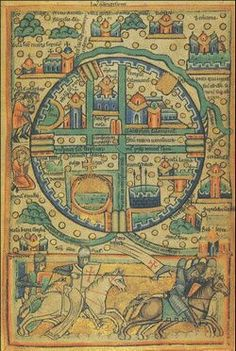 12th c. map of Jerusalem