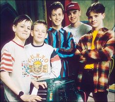 BYKER GROVE, Yes little ones Ant  Dec used to be in a TV show before presenting (and they used to sing!)