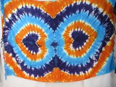 double heart tie dye sarong blue orange purple summer dresses $5.25 - http://www.wholesalesarong.com/blog/double-heart-tie-dye-sarong-blue-orange-purple-summer-dresses-5-25/