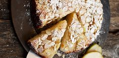 Flourless pear and almond cake