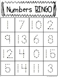 My students are going to play this TRACE & PLAY numbers BINGO on Halloween.  We are going to use candy corn for the makers!