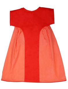 Color Block Girls Dress