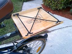 Cargo Cradle 12sg Bike / Bicycle Wood / by BikeCultureRising, $39.95