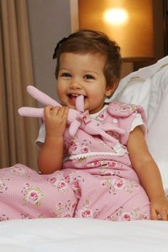Andersen pink sleepsack (toddler), by Trois Poules www.troispoules.com