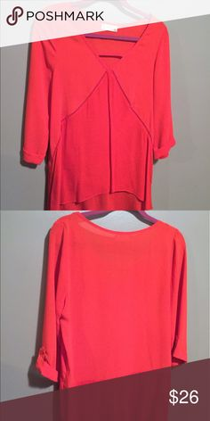 Altar'd State Blouse Similar to free the people design, flowy red too with 3/4 sleeves. Altar'd State Tops Blouses