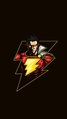 Marvel Movies Wallpaper for iPhone from Uploaded by user Shazam - wallpaper - Wallpaper Cars, Flash Wallpaper, Batman Wallpaper, Iphone Wallpaper, Shazam Comic, Captain Marvel Shazam, Marvel Vs, Dc Comics Poster, Arte Dc Comics