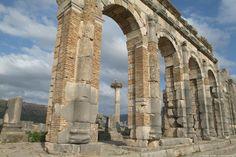 Volubilis - ruines