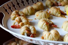puff pastry wrapped shrimp